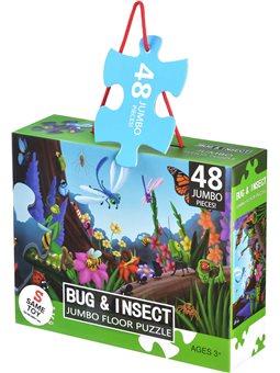 Пазл Same Toy Жуки и насекомые 48 ел. 88096Ut