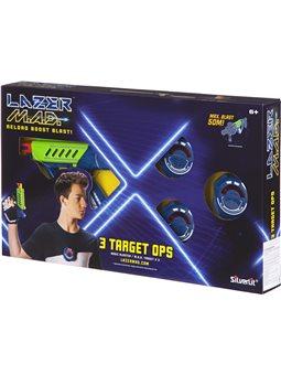 Игрушечное оружие Silverlit Lazer M.A.D. Тренировочный набор (1 бластер, 3 мишени) LM-86846