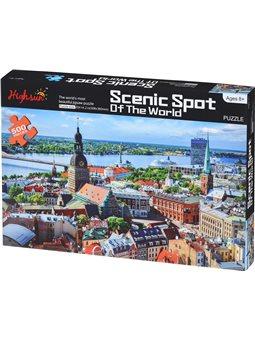 Пазл Same Toy Scenic Spot 500 ел. 88039Ut