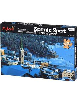 Пазл Same Toy Scenic Spot 500 ел. 88038Ut