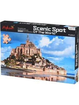 Пазл Same Toy Scenic Spot 500 ел. 88056Ut