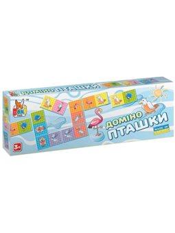 Настольная игра Boni Toys Домино Птички