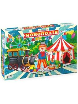 Настольная игра Boni Toys Детская монополия