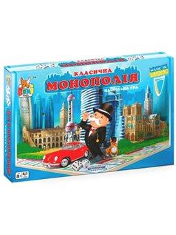 Настольная игра Boni Toys Классическая монополия