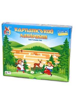 Настольная игра «Карпатский Лабиринт» Boni Toys