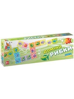Настольная игра Boni Toys Домино Рыбки