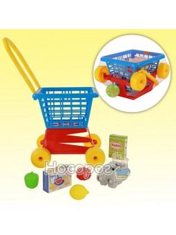 Тележка Supermarket №1 + набор продуктов №2 67890