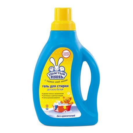 Фото Жидкое средство Ушастый нянь для стирки детского белья, 750мл (4820026412948)