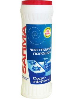 Очистительный порошок Sarma Сода-эффект 400 г (4600697080734)
