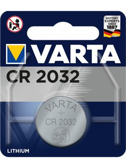 Батарейка Varta CR 2032 BLI 1 Lithium (06032101401) (4008496276882)
