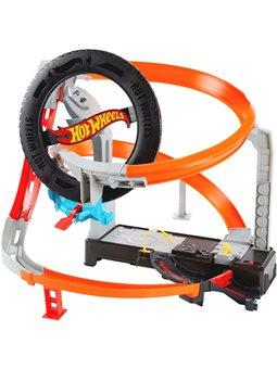 """Игровой набор """"Гонки в шиномонтажной"""" Hot Wheels (GJL16) [887961813449]"""