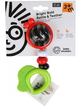Погремушка Baby Einstein Bold Rattle & Teether (11416)