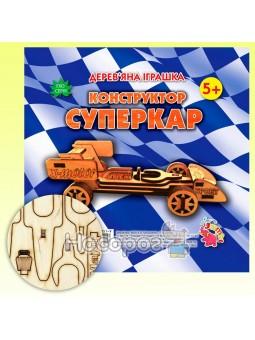 Деревянная игрушка-конструктор Суперкар