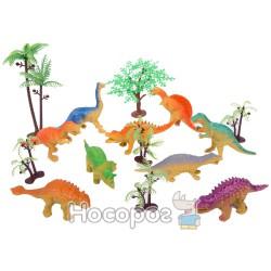 Набор динозавров 1128278