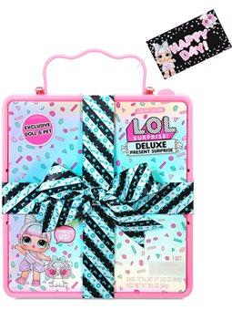 Игровой набор с экскл.куклой L.O.L. Surprise! серии Present Surprise - Суперподарок (розовый) (570691)