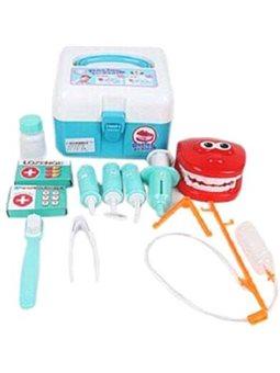 """Игровой набор QUNXING """"Доктор"""" стоматолог, 12 элементов (8013)"""