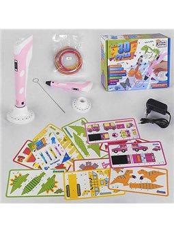 Ручка 3D цвет Розовый Fun Game (28381)