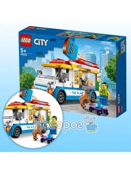Конструктор Фургон с мороженым LEGO 60253