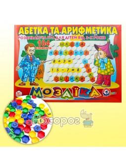 Игрушка мозаика Азбука и арифметика ТехноК