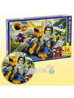 Пазл Рыцари Лего 36 элементов П-03627