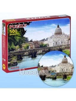 Пазл Природа с мостом 500 элементов П-50021