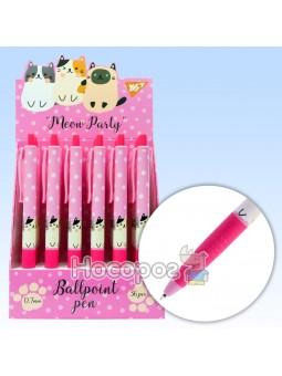Ручка масляная YES Meow Party автоматическая 0,7 мм 411971