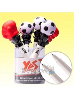 Ручка масляная YES Funny Jump Sport 1 мм 412021