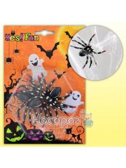 Декоративний виріб Yes! Fun Набор пауков для декора 3 штуки 973288