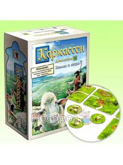 Игра настольная Каркассон Холмы и овцы 915254