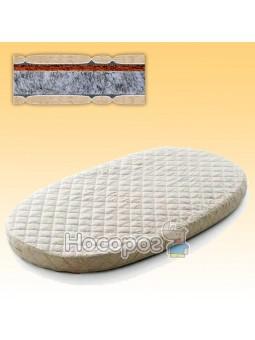 Матрас в кроватку 72х120, кокос+флексовойлок 7226