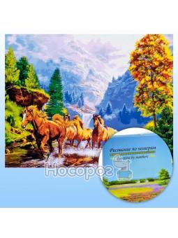 Картина по номерам KTL 1656 Мустанги