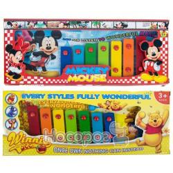 """Ксилофон 666807/08 """"Mickey Mouse""""/""""Winnie the Pooh"""""""