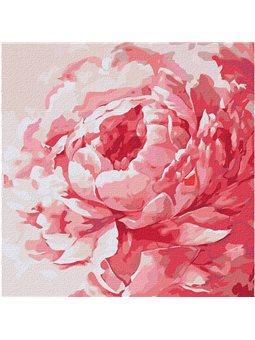 "Картина по номерам ""Розовый пион"" Идейка (КНО2943)"