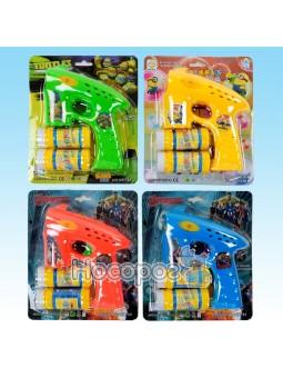 Пистолет с мыльными пузырями №КК 733