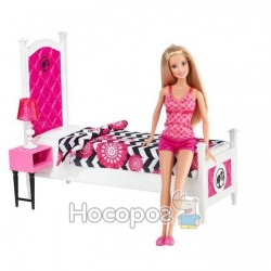 """Набор Mattel с куклой Barbie """"Роскошная спальня"""""""