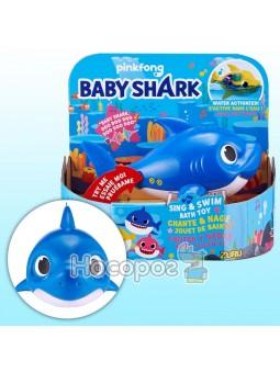 Интерактивная игрушка для ванны ROBO ALIVE серии Junior DADDY SHARK 25282B