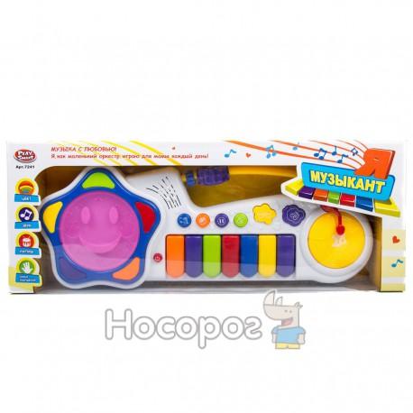 Піаніно 7241 (музика, світло, на батарейці) (18)