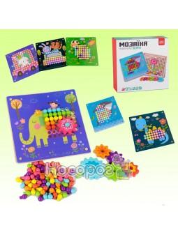 Деревянная игра Fun Game 75402 Мозаика Зверята