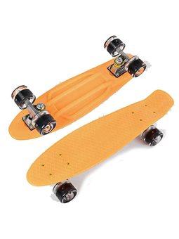 Скейт Пенни борд 2325 (8) Best Board, СВЕТ, доска55см, колёса PU d6см