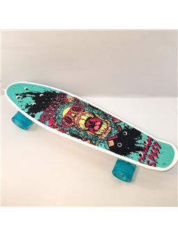 Скейт Пенни борд S 29661 (8) Best Board колёса PU, d4.5 см, доска55 см