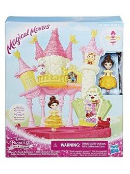 Маленькая кукла Принцесса, крутящаяся и дворец Белль ( Ки019575 )