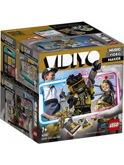 Конструктор LEGO VIDIYO HipHop Robot BeatBox Битбокс Робот-рэпер 73 детали (43107)