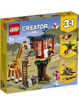 Конструктор LEGO Creator Домик на дереве для сафари 397 деталей (31116)