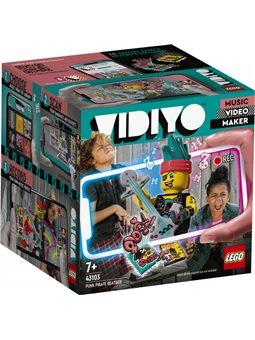 Конструктор LEGO VIDIYO Punk Pirate BeatBox Битбокс Пират-панк 73 детали (43103)