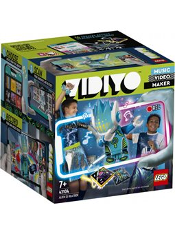 Конструктор LEGO VIDIYO Alien DJ BeatBox Битбокс Пришелец ди-джей 73 детали (43104)