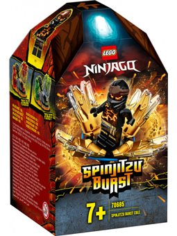 Конструктор LEGO Ninjago Шквал Спинджицу - Коул 48 деталей (70685)