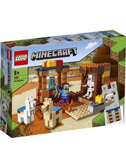 Конструктор LEGO Minecraft Торговый пост 201 деталь (21167)