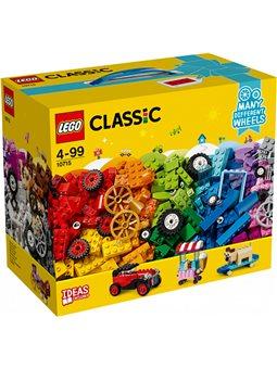 Конструктор LEGO Classic Кубики и колеса 442 детали (10715)