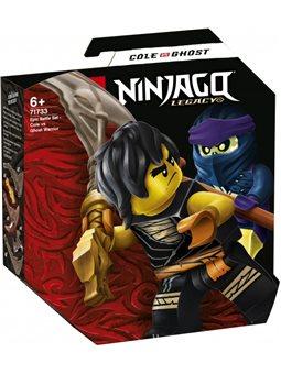 Конструктор LEGO Ninjago Грандиозная битва: Коул против воина-призрака 51 деталь (71733)