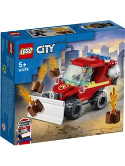 Конструктор LEGO City Fire Пожарный пикап 87 деталей (60279)